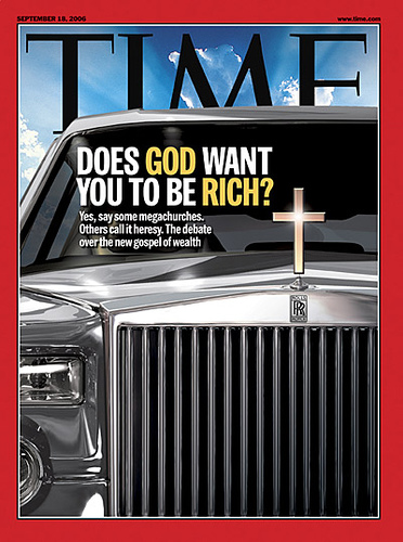 God want you to be Rich?